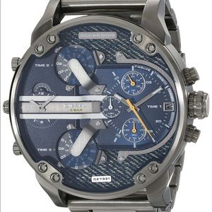 Diesel Men's Mr. Daddy 2.9 Denim Faced Watch